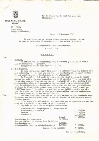 raadsverslagen Idaarderadeel 1935-1983 1965-12-23