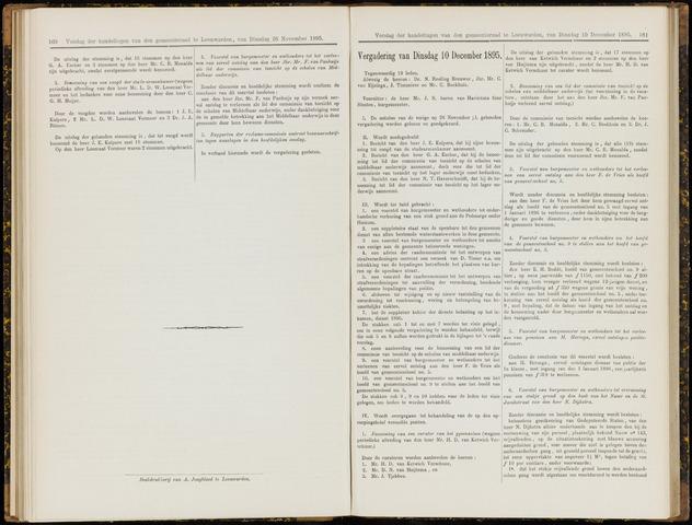 Raadsverslagen van de gemeente Leeuwarden, 1865-2007 (Notulen) 1895-12-10