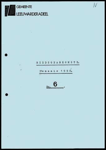 Notulen van de gemeenteraad van Leeuwarderadeel 1990-05-31