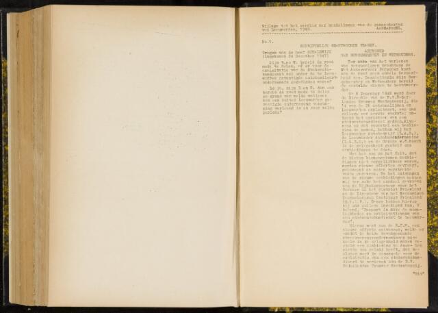 Raadsverslagen van de gemeente Leeuwarden, 1865-2007 (Schriftelijke vragen) 1948-01-01