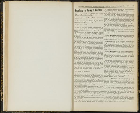 Raadsverslagen van de gemeente Leeuwarden, 1865-2007 (Notulen) 1901-03-26