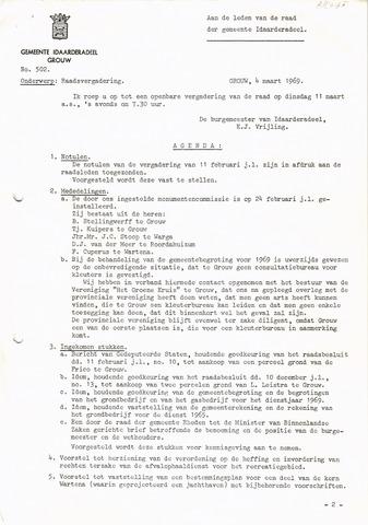 raadsverslagen Idaarderadeel 1935-1983 1969-03-11