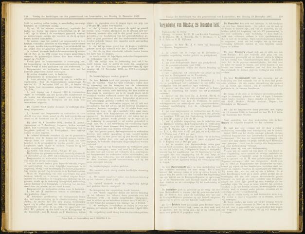 Raadsverslagen van de gemeente Leeuwarden, 1865-2007 (Notulen) 1897-12-28