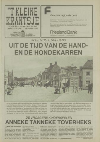 't Kleine Krantsje, 1964-1997 1986-04-19