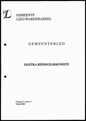 Notulen van de gemeenteraad van Leeuwarderadeel 2004-04-28