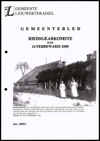 Notulen van de gemeenteraad van Leeuwarderadeel 2005-02-24