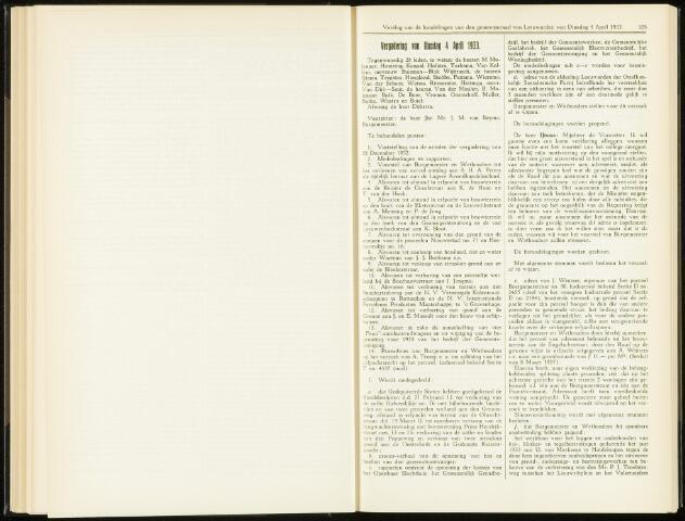 Raadsverslagen van de gemeente Leeuwarden, 1865-2007 (Notulen) 1933-04-04