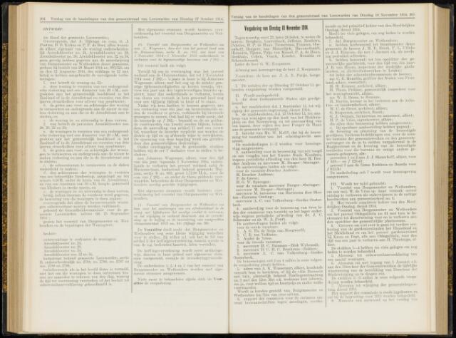 Raadsverslagen van de gemeente Leeuwarden, 1865-2007 (Notulen) 1914-11-10