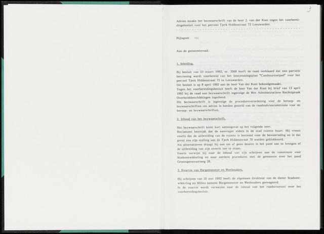 Raadsverslagen van de gemeente Leeuwarden, 1865-2007 (Bijlagen) 1992-01-01