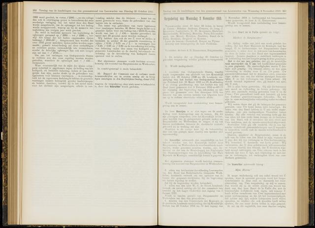 Raadsverslagen van de gemeente Leeuwarden, 1865-2007 (Notulen) 1910-11-02