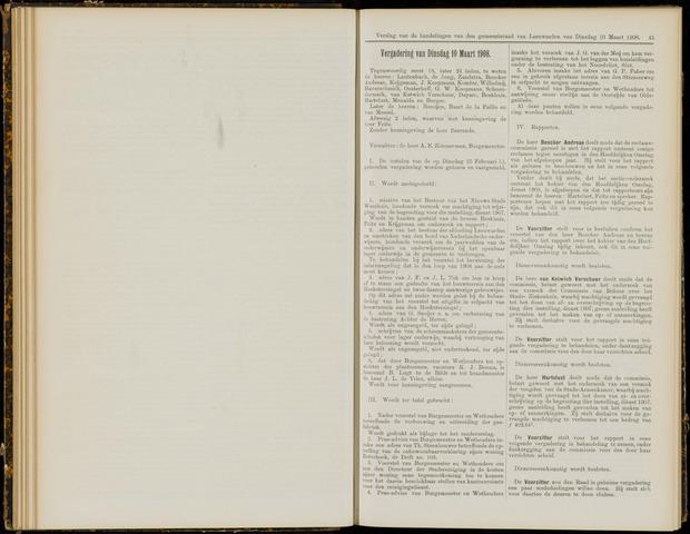 Raadsverslagen van de gemeente Leeuwarden, 1865-2007 (Notulen) 1908-03-10