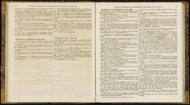 Raadsverslagen van de gemeente Leeuwarden, 1865-2007 (Notulen) 1875-06-10