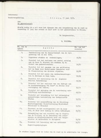 Notulen van de gemeenteraad van Leeuwarderadeel 1976-06-24