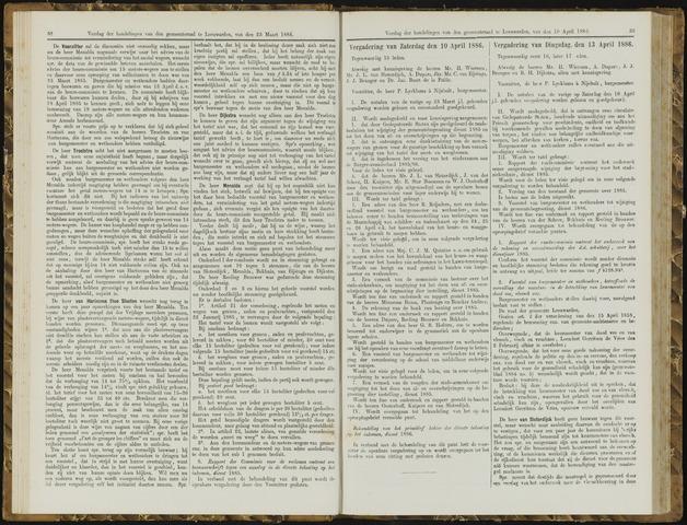 Raadsverslagen van de gemeente Leeuwarden, 1865-2007 (Notulen) 1886-04-10