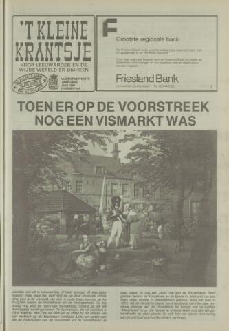 't Kleine Krantsje, 1964-1997 1989-06-01