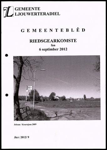 Notulen van de gemeenteraad van Leeuwarderadeel 2012-09-06