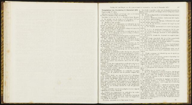 Raadsverslagen van de gemeente Leeuwarden, 1865-2007 (Notulen) 1879-12-11