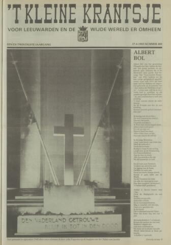 't Kleine Krantsje, 1964-1997 1985-04-27