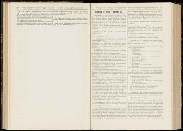 Raadsverslagen van de gemeente Leeuwarden, 1865-2007 (Notulen) 1925-09-22