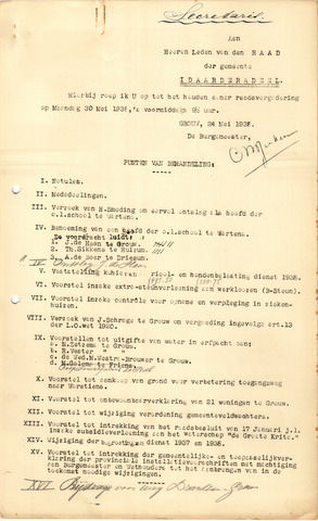 raadsverslagen Idaarderadeel 1935-1983 1938-05-30