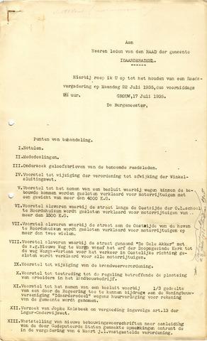raadsverslagen Idaarderadeel 1935-1983 1935-07-22
