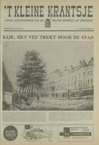 't Kleine Krantsje, 1964-1997 1978-05-06