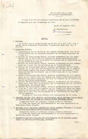 raadsverslagen Idaarderadeel 1935-1983 1951-08-27