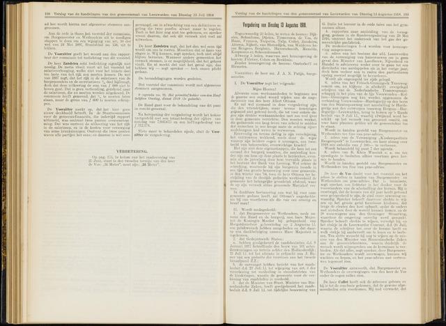 Raadsverslagen van de gemeente Leeuwarden, 1865-2007 (Notulen) 1918-08-13