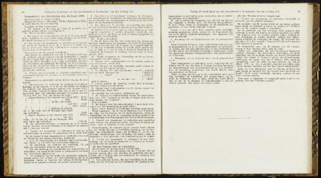 Raadsverslagen van de gemeente Leeuwarden, 1865-2007 (Notulen) 1877-06-14
