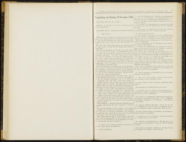 Raadsverslagen van de gemeente Leeuwarden, 1865-2007 (Notulen) 1894-11-13