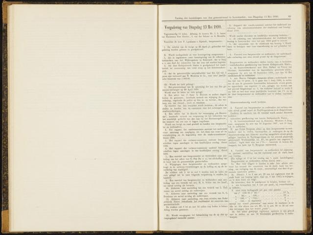 Raadsverslagen van de gemeente Leeuwarden, 1865-2007 (Notulen) 1890-05-13