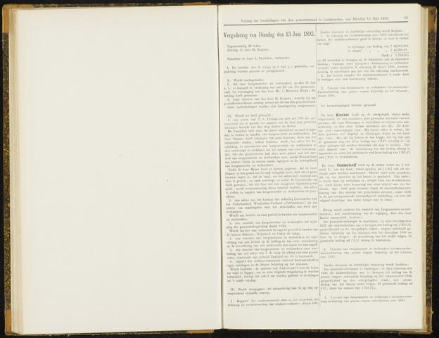 Raadsverslagen van de gemeente Leeuwarden, 1865-2007 (Notulen) 1893-06-13