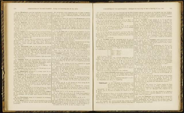 Raadsverslagen van de gemeente Leeuwarden, 1865-2007 (Notulen) 1868-06-06