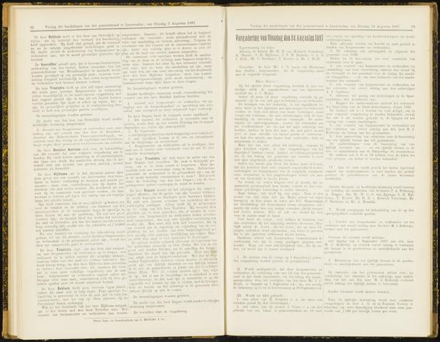 Raadsverslagen van de gemeente Leeuwarden, 1865-2007 (Notulen) 1897-08-24