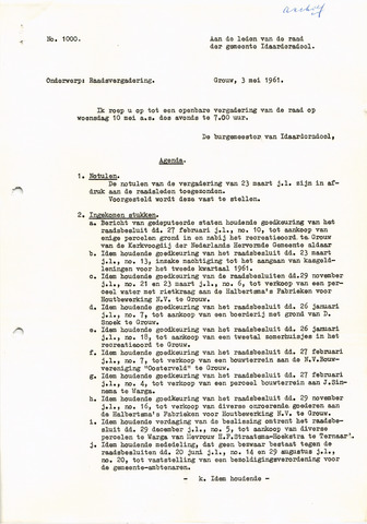 raadsverslagen Idaarderadeel 1935-1983 1961-05-10
