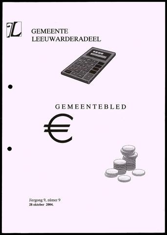 Notulen van de gemeenteraad van Leeuwarderadeel 2004-10-28