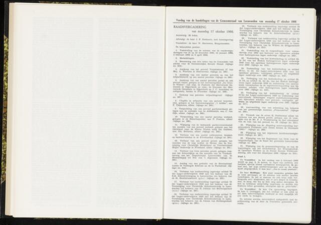 Raadsverslagen van de gemeente Leeuwarden, 1865-2007 (Notulen) 1966-10-17