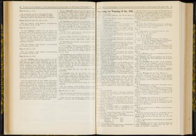 Raadsverslagen van de gemeente Leeuwarden, 1865-2007 (Notulen) 1946-12-18