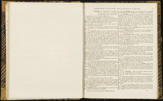 Raadsverslagen van de gemeente Leeuwarden, 1865-2007 (Notulen) 1870-03-24