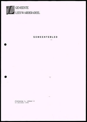 Notulen van de gemeenteraad van Leeuwarderadeel 1996-12-12