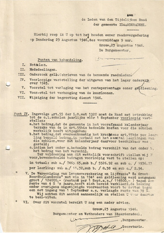 raadsverslagen Idaarderadeel 1935-1983 1946-08-29
