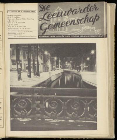 Leeuwarder Gemeenschap 1952-12-01