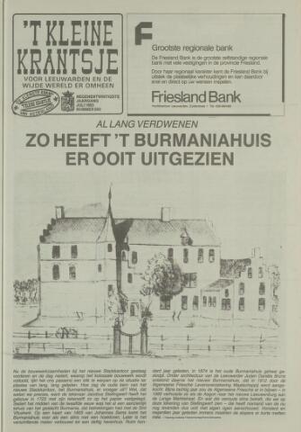 't Kleine Krantsje, 1964-1997 1993-07-01