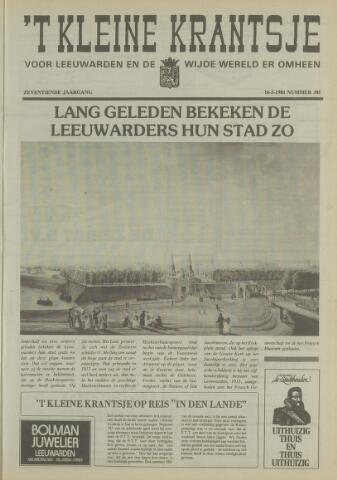 't Kleine Krantsje, 1964-1997 1981-05-16