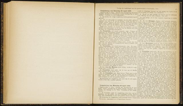 Raadsverslagen van de gemeente Leeuwarden, 1865-2007 (Notulen) 1872-04-20