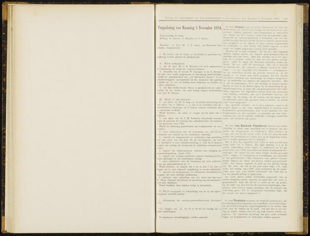 Raadsverslagen van de gemeente Leeuwarden, 1865-2007 (Notulen) 1894-11-05
