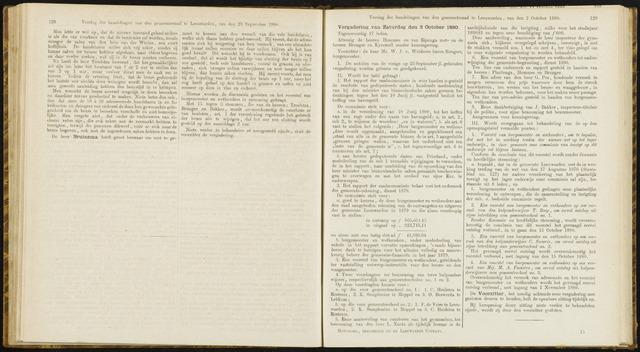 Raadsverslagen van de gemeente Leeuwarden, 1865-2007 (Notulen) 1880-10-02