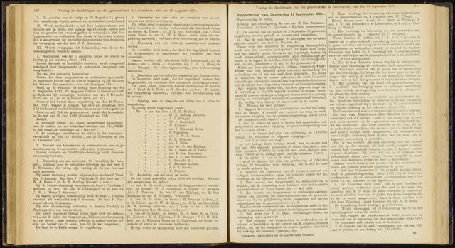 Raadsverslagen van de gemeente Leeuwarden, 1865-2007 (Notulen) 1884-09-11