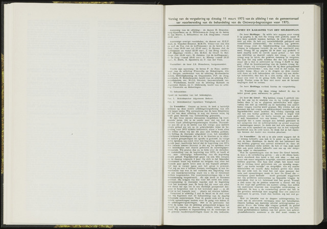 Raadsverslagen van de gemeente Leeuwarden, 1865-2007 (Notulen) 1975-03-11