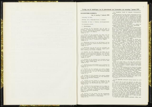 Raadsverslagen van de gemeente Leeuwarden, 1865-2007 (Notulen) 1959